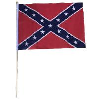 "12""x18"" Stick Flag [Rebel Flag]"